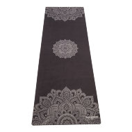 Коврик для йоги YogaDesignLab Travel Mat Mandala Black (каучук, микрофибра) 1 мм