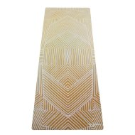 Коврик для йоги YogaDesignLab Combo Mat Optical Gold (каучук, микрофибра) 3,5 мм